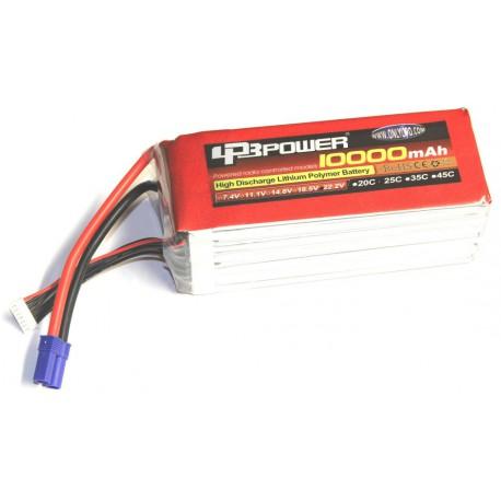 LPB power 10000mAh 22.2V 25C (EC5)