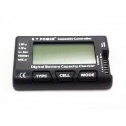 GT Power 2-7S Testeur de Batteries Voltmètre LiPo LiFe Nimh NiCd
