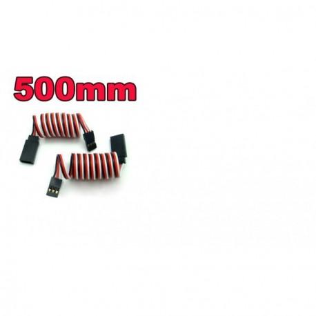 Rallonge pour cable de servo 500 mm