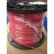 Câble silicone 30AWG rouge par mètre