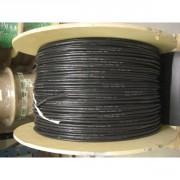 Câble silicone 30AWG noir par mètre