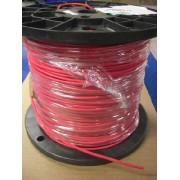 Câble silicone 8AWG rouge par mètre