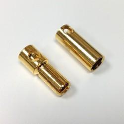 5 mm Gold Bullet Connector
