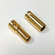 5 mm Gold Bullet Connector