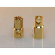8 mm Gold Bullet Connector