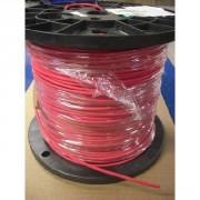 Câble silicone 26AWG rouge par mètre