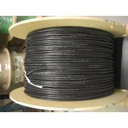 Câble silicone 20AWG noir par mètre