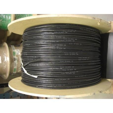 Câble silicone 10AWG noir (par 20 cm)