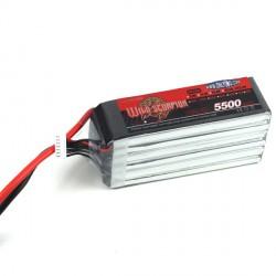 Wild Scorpion 30C 5500mAh 6S (EC5)