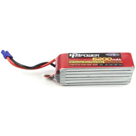 LPB power 22.2V 6200mAh 25C (DEAN)