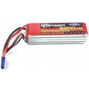 LPB power 14.8V 6200mAh 25C (DEAN)