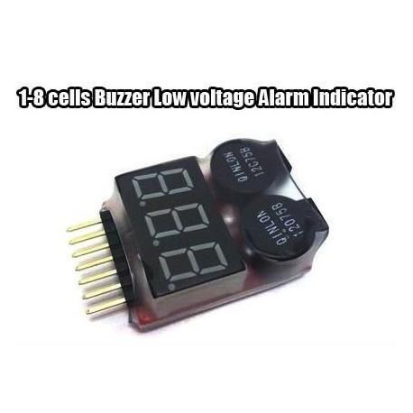 Lipo testeur 2S-8S beeper